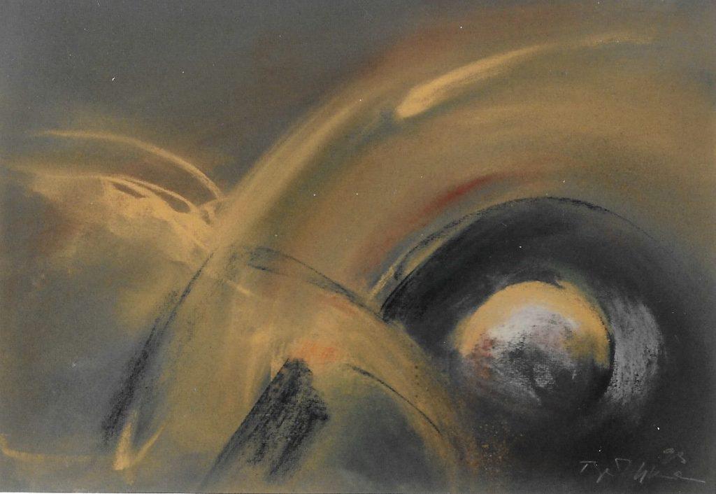 Raumbild - 1992, Pastell