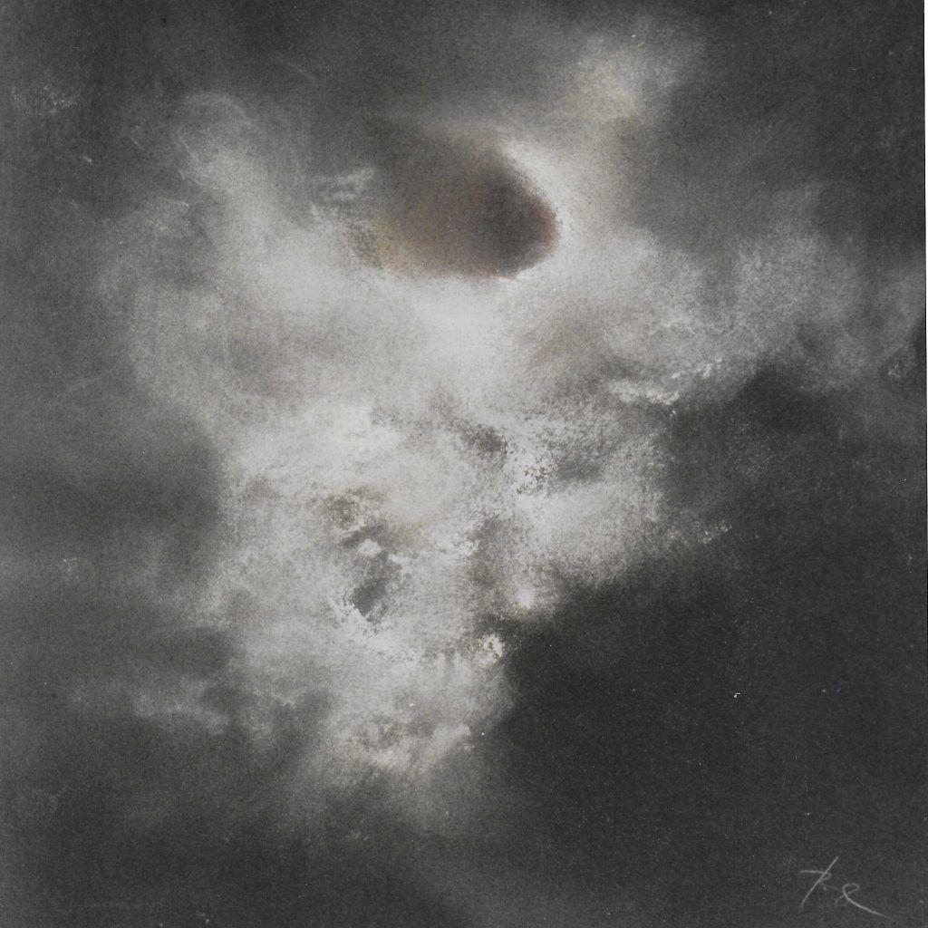 Wolke - Pastell, 43x43 cm, 2003