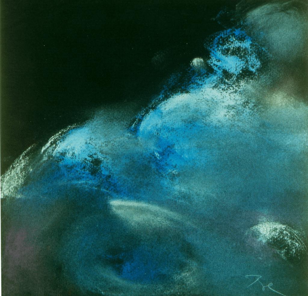 Blaue Wolken