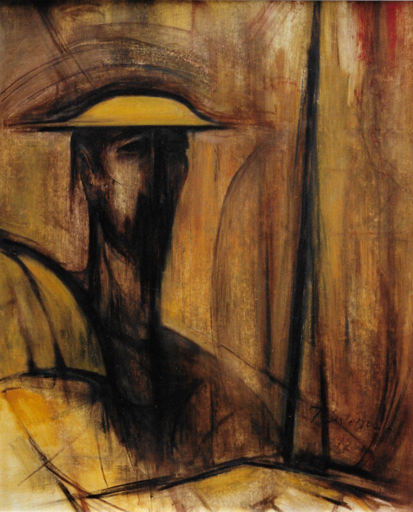 Don Quichotte, 95x185 cm, 1992
